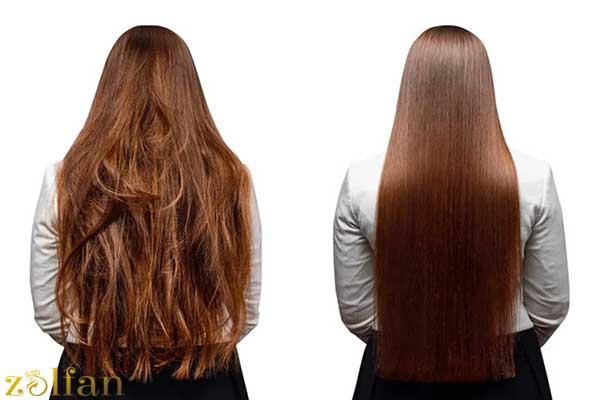 فواید کراتینه کردن مو