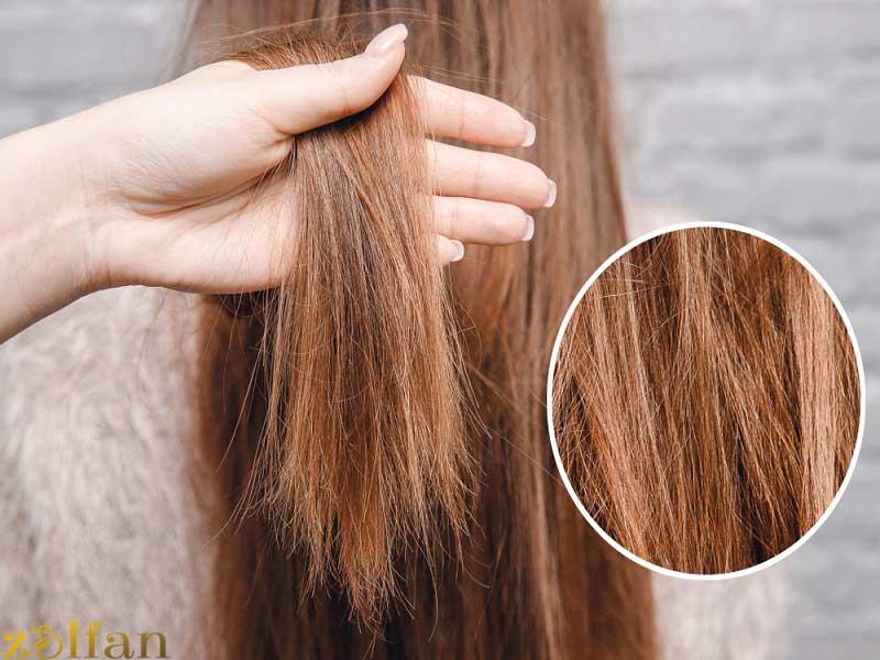 محافظت از موهای رنگ شده
