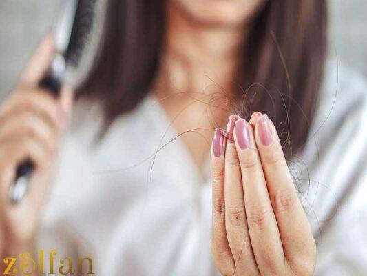راه های جلوگیری از ریزش مو