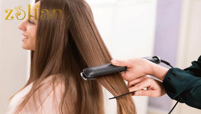 مراقبت از مو با کراتینه
