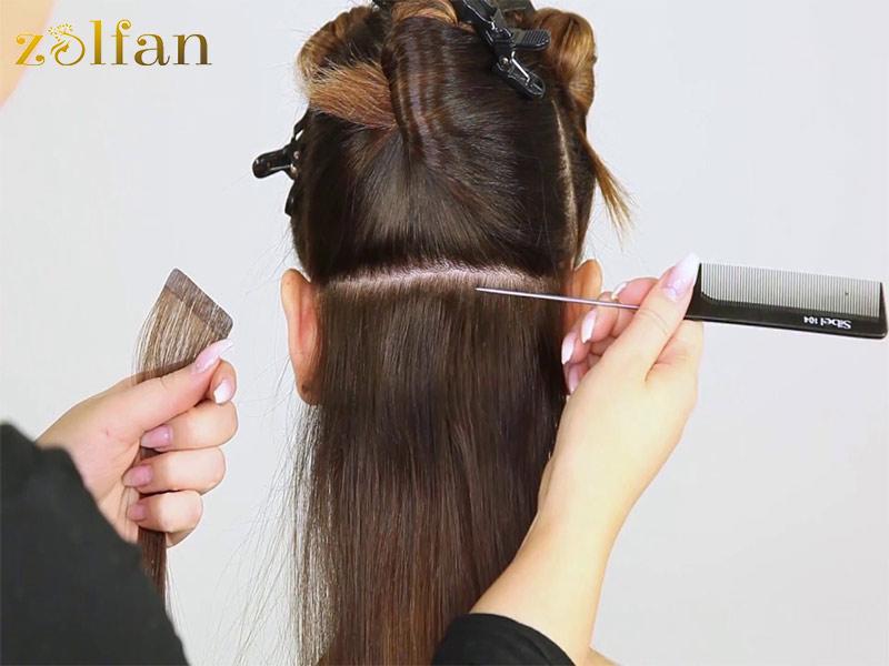استفاده از موهای اکستنشن برای کودکان