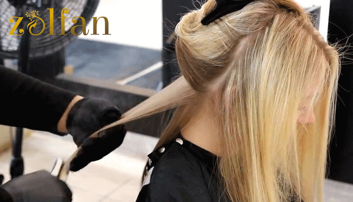 میزان مهارت آرایشگر در ماندگاری کراتین