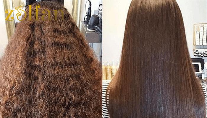 مزایای المنت کردن موها