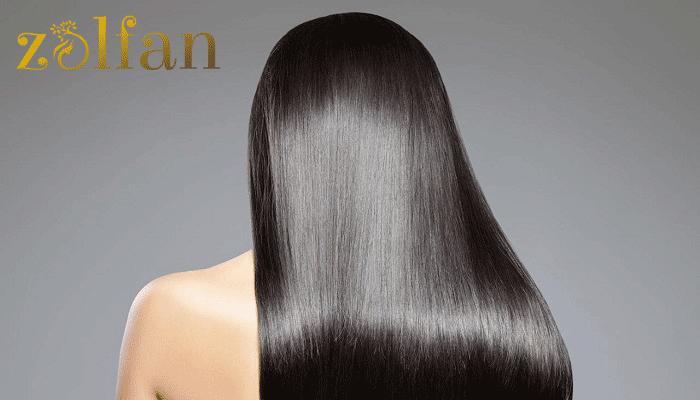 المنت کردن موها