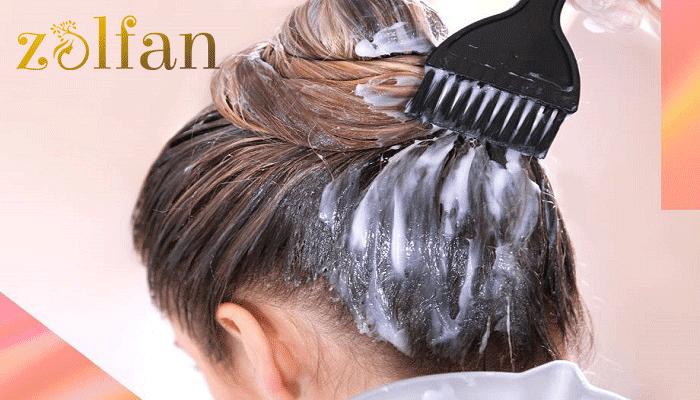 ویتامنیه کردن موهای سر