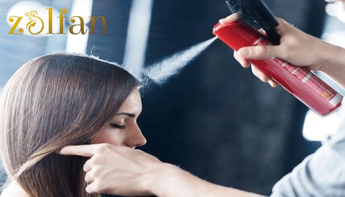 آیا استفاده از اسپری مو حالت دهنده مضر است؟