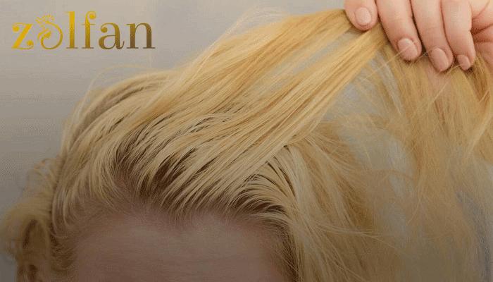 علت چرب شدن مو بعد از کراتین مو